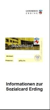 Layout Flyer Sozialcard